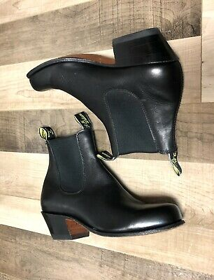£275 • Buy RM Williams Ladies Black Boots Size 5G WH Worn Once