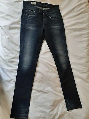 Pepe Jeans Trousers Blue Navy Size 26 Waist Regular Waist Great Condition  • 3.37£