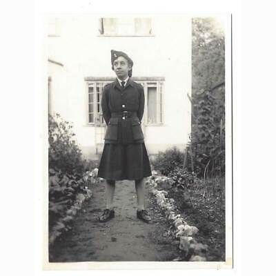 £4.95 • Buy WW2 Young Lady In Uniform - Vintage Photograph C1940s
