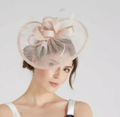 Coast AMEDEE Fascinator Sinemay With Feathers Headband To Secure • 25£
