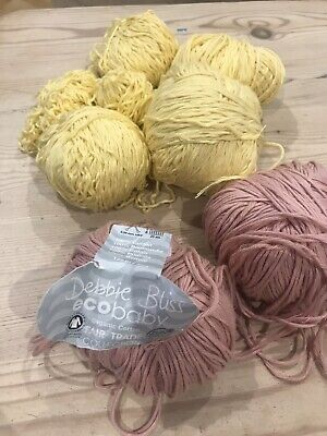 Bundle Debbie Bliss Eco Baby. 100% Cotton Yarn • 8£