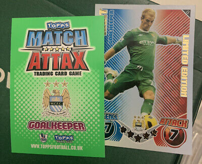 £24.99 • Buy Match Attax Extra 10/11 L5 Joe Hart Limited Edition Card Mint Condition