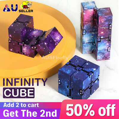 AU8.45 • Buy Infinity Cube Fidget Toys Magic Puzzle Sensory Autism Anxiety ADHD Stress Relief