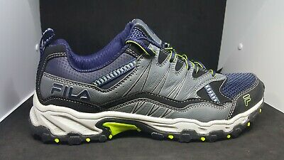 £36.16 • Buy FILA All Terrain Trail Running Sneakers Shoes Mens Size 10 GREY/NAVY