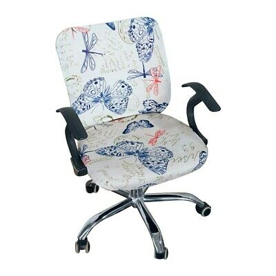 AU12.82 • Buy Home Office Computer Chair Cover Simplism Style Elastic Separate Modern Rotating