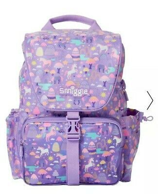 AU59.95 • Buy Smiggle  Beam  Chelsea Backpack School Bag For Girls, 🦄🌈unicorn Fantasy Land