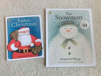 Raymond Briggs Books (The Snowman And Father Christmas) • 3.99£
