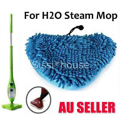 AU11.85 • Buy After-market H2O CORAL BLUE Steam Mop Pads Replacement Cleaner Bissell Steamboy