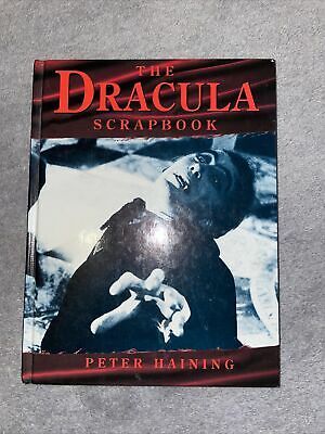 The Dracula Scrapbook By Peter Haining • 8.90£