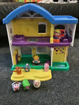 Fisher Price Little People Happy Animal Farm House • 4.70£