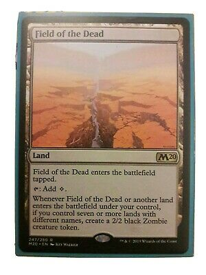 Field Of The Dead M20 Magic The Gathering Trading Card Game Rare Mint Condition • 15£