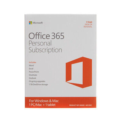 AU6.72 • Buy Office365 Email Account For Win / 1TB Cloud