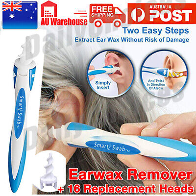AU5.95 • Buy AU Ear Wax Removal Remover Tool Ear Cleaner Q-Grips Pick Swab Handle 16 Tips