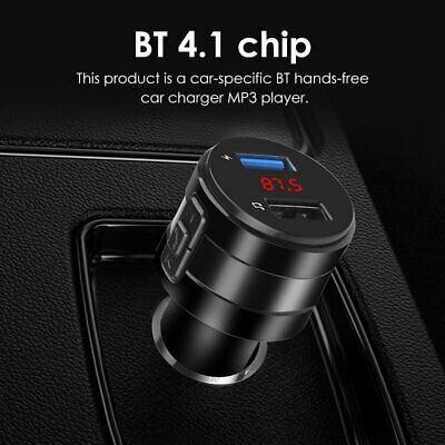 AU10.99 • Buy Bluetooth Car USB Charger MP3 Player Kit FM Transmitter Audio For IPhone Samsung