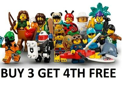 £4.99 • Buy LEGO Minifigures Series 21 71029 New Pick Choose Your Own BUY 3 GET 4TH FREE