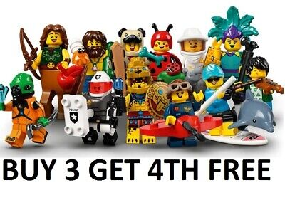 Lego Minifigures Series 21 New Pick Choose Your Own • 6.99£