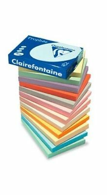 £49.99 • Buy A4 COLOURED PAPER CLAIREFONTAINE ADAGIO WHITE CRAFT PRINTER COPIER QUALITY 80gsm
