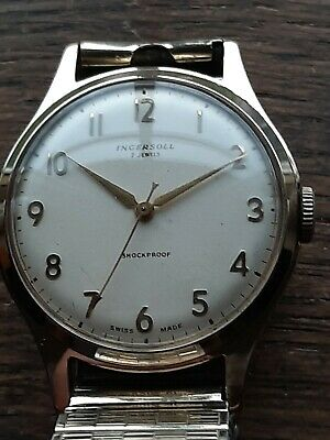 Immaculate Ingersoll Vintage Mens GP Watch Serviced&Timed • 25£
