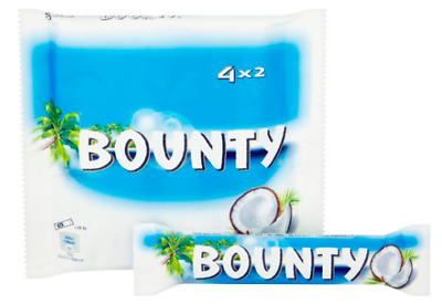 £12.79 • Buy Bounty Coconut Milk Chocolate Twin Bars 7 X 228g 4 Packs OUT OF DATE 04/04/2021
