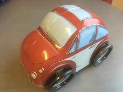 Empty - Beetle ? Car Tin Buiscit / Sweets Novelty Storage • 7.75£