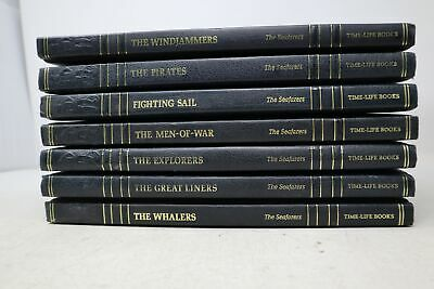 Lot Of 7 Seafarers Time Life Books -  Hardcover • 24.57£