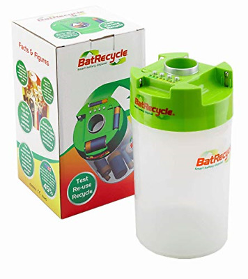 Batrecycle - Battery Recycling Bin With Built In Tester. • 16.31£