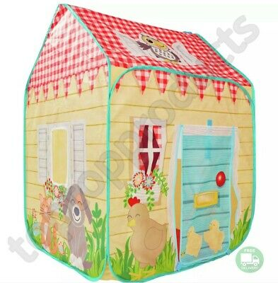 *Chad Valley Colorful Wendy Polyster House Tent Indoor/Outdoor Use • 23.99£