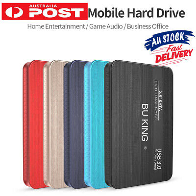 AU47.84 • Buy USB SSD Solid State Drive External Hard Drive 2.5  Portable HD External Drive AU