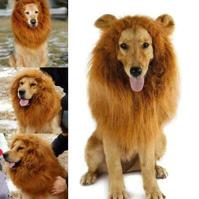 £5.99 • Buy Pet Clothes Fancy Dress Up Costume Cat Lion Mane Wig For Large Dogs