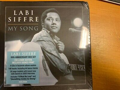My Song - Labi Siffre (CD New) 50TH ANNIVERSARY EDITION -Exclusive Signed Print • 41.50£