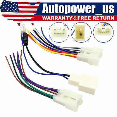 $8.99 • Buy For Toyota Aftermarket Radio Stereo Install Power Speaker Wire Antenna Harness