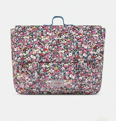 Kids Kath Kidston Premium Oilcloth Backpack Bag Satchel Floral  • 7£