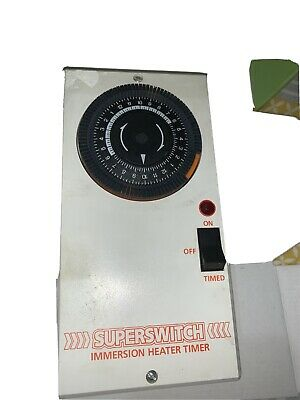 Superseitch Immersion Heater Timer • 25£
