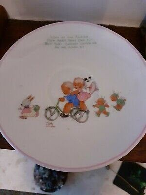 Maybell Lucy Atwell Saucer By Shelley • 5£