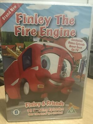 Finley The Fire Engine DVD Kids 19 Episodes Finley & Friends BRAND NEW SEALED • 6.99£