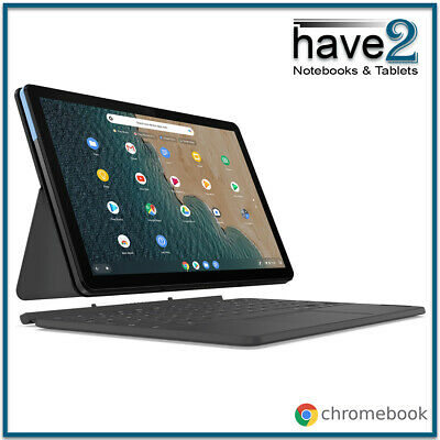 """AU369 • Buy LENOVO IdeaPad Duet 2-in-1 Chromebook 10"""" Laptop Tablet With Keyboard Pack"""