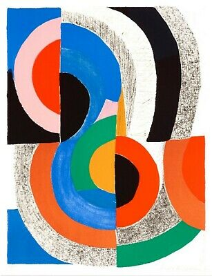 Sonia Delaunay Signed Numbered Lithograph • 3,750£