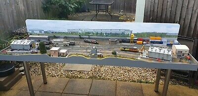 £3375 • Buy 00 Gauge Model Railway Layout DCC Depot 8ft+controller End To End, Peco Hornby