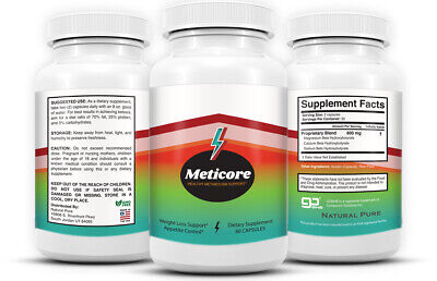$25.65 • Buy (3 PACK) Meticore Metabolism Control Advanced Diet Pills Supplement Weight Loss