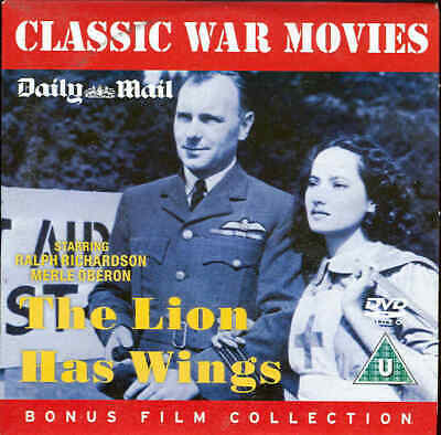THE LION HAS WINGS - Great British War Film - - - - DVD - - - - • 1£