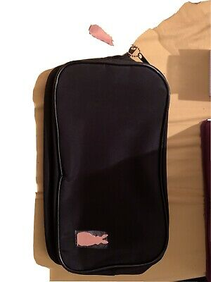 Ann Summers Rabbit Decal Black Patent Zip Adult Toy Bag Black Fabric Lining • 5£