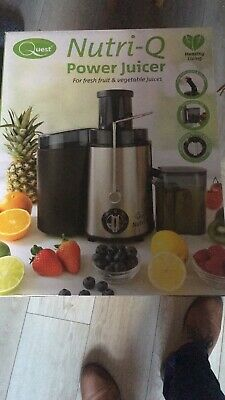 Nutri-Q Power Juicer Amazing For FRESH FRUIT And VEGETABLE JUICE • 35£
