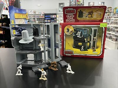 $ CDN75.93 • Buy Vintage Kenner 1982 Star Wars Micro Collection Death Star Escape With Box