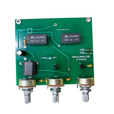 $ CDN29.39 • Buy Latest Version QRM Eliminator X-Phase 1MHz To 30MHz HF Bands Amplifier FinisT6X9
