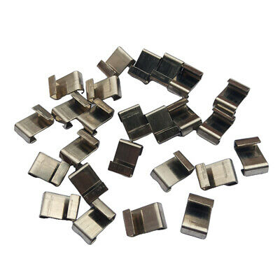 100-Piece Durable Greenhouse Glazing Clips Replacement Parts Accessories • 6.64£