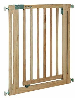 £59.99 • Buy Easy Close Wood Door Safety Gate Made From Wood / Pressure Fit /