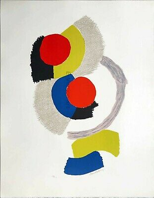 Sonia Delaunay Signed Numbered Lithograph 1970 • 2,500£