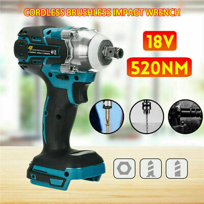 Replace For MAKITA DTW285Z 18V Cordless Brushless Impact Wrench 1/2  Driver UK! • 23.98£