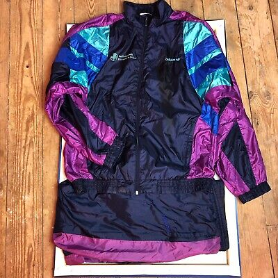 Vintage Adidas Shell Suit Track Suit. Jacket And Pants. Size Large • 25£