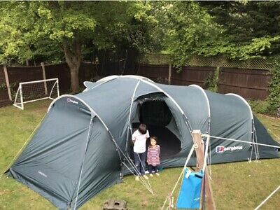 Berghaus Torridon 6 Person Family All Weather Tent. Festival Camping Outdoors • 200£